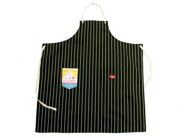COOKMAN [ Long Apron ] BLACK STRIPE