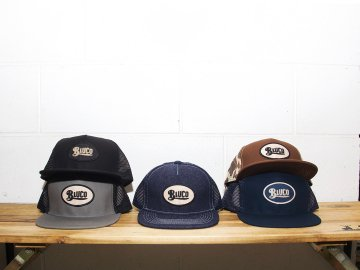 BLUCO [ MESH CAP -oval- ] 5 COLORS