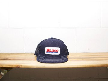 BLUCO [ MESH CAP   -work garment- ] DENIM