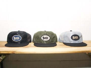 BLUCO [ ALL MESH CAP -oval- ] 3 COLORS