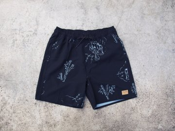 BRIXTON [ PALMAS Trunk ] BLACK