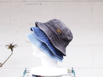 SKITLABEL [ DENIM BUCKET HAT ] 3 COLORS