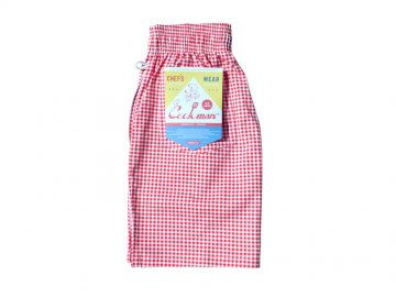 COOKMAN [ Chef Short Pants ] RED GINGHAM