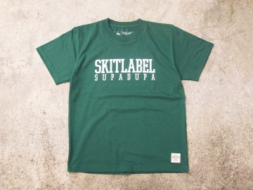 SKITLABEL [ OG LOGO Tee ] FOREST GREEN
