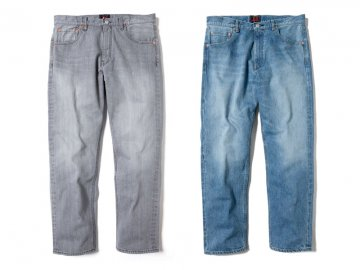 68&BROTHERS [ Selvedge Straight Slim Fit Denim V.W ] 2 COLORS
