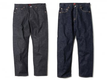 68&BROTHERS [ Selvedge Straight Slim Fit Denim O.W ] 2 COLORS