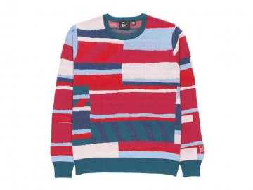by Parra [ Premium Stripes Knitted Pullover ]