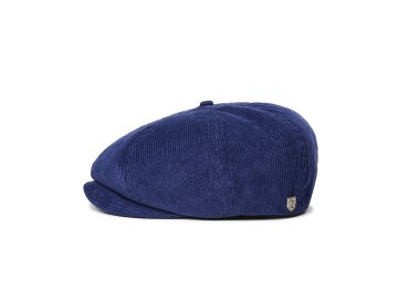 BRIXTON [ BROOD CORDUROY SNAP CAP ] PATRIOT BLUE