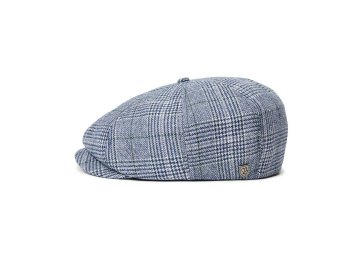 BRIXTON [ BROOD SNAP CAP ] WASHED NAVY/ALUMINUM