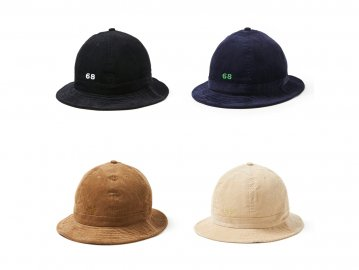68&BROTHERS [ Corduroy Tulip Hat ] 4 COLORS
