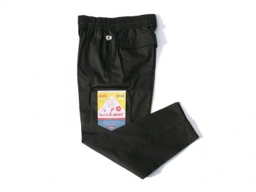 COOKMAN [ Chef Cargo Pants ] BLACK