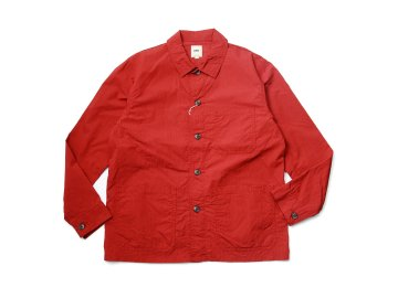 F.O.B FACTORY [ FRENCH SHIRTS JACKET ] RED