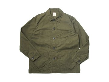 F.O.B FACTORY [ FRENCH SHIRTS JACKET ] OLIVE