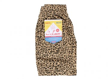 COOKMAN [ Chef Short Pants ] LEOPARD