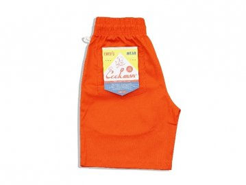COOKMAN [ Chef Short Pants ] ORANGE