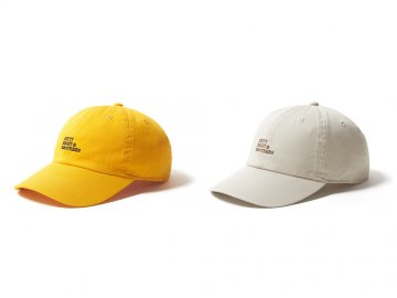 68&BROTHERS [ 6Panel Twill Cap w/emb. ] 2 COLORS