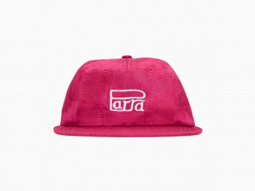 by Parra [ Race Logo 6 Panel Hat ] CRANBERRY