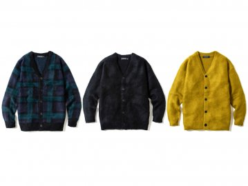 68&BROTHERS [ Mohair Sweater Cardigan ] 4 COLORS