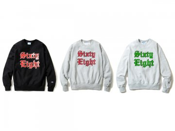 68&BROTHERS [ Heavy Weight Crew Sweat