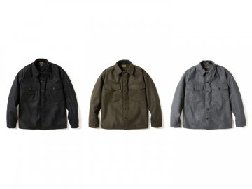 68&BROTHERS [ Wool C.P.O Jkt ] 3 COLORS