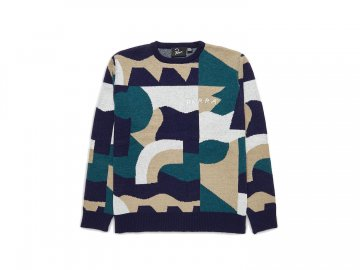 by Parra [ City Planning Premium Knitted Pullover ]