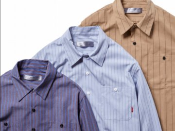 BLUCO [ STANDARD WORK SHIRTS L/S ] 3 COLORS