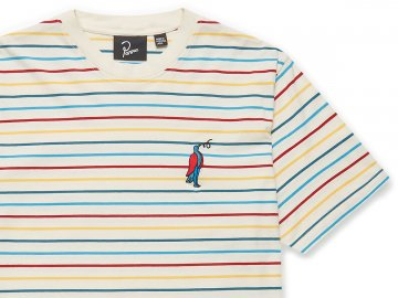 by Parra [ Staring Stripe T-shirt ]