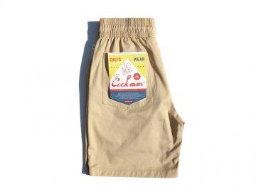 COOKMAN [ Chef Short Pants ] SAND