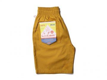 COOKMAN [ Chef Short Pants ] MUSTARD