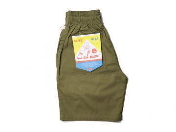 COOKMAN [ Chef Short Pants ] KHAKI