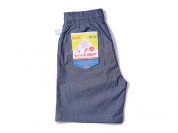 COOKMAN [ Chef Short Pants ] CHAMBRAY