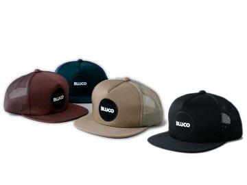 BLUCO [ MESH CAP -circle patch- ] 4 COLORS