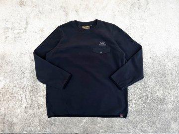 BLUCO [ CREW NECK FLEECE SHIRTS ] BLACK