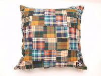 4 WHEEL PIPE [ PATCHWORK CUSHION ] - YELLOW PLAID