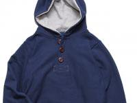 4 WHEEL PIPE [ HENLY HOODY ] - NAVY x HEATHER GRAY
