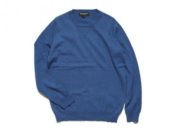 <img class='new_mark_img1' src='https://img.shop-pro.jp/img/new/icons16.gif' style='border:none;display:inline;margin:0px;padding:0px;width:auto;' />68&BROTHERS [ COTTON CREW SWEATER SINGLE V ] - NAVY【50% OFF】