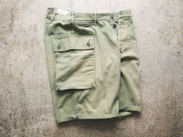 68&BROTHERS [ M44 HB SHORTS ] - OLIVE