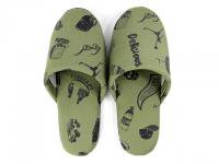 DELICIOUS HOME COLLECTION [ ROOM SHOES & CASE ] - OLIVE