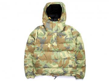 Delicious by Crescent Down Works [ Custom Pullover Down Jacket ] - CAMO