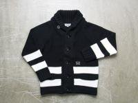 INTERFACE [ BORDER KNIT CARDIGAN ]