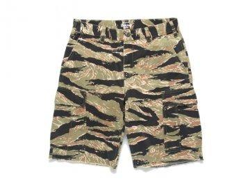 Delicious [ BDU Short Pants ] Tiger Camo