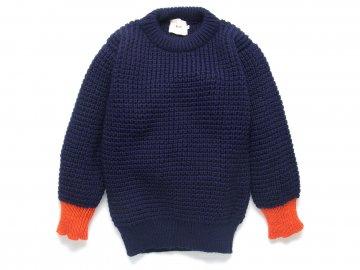 Nisus Hotel x Deckhand [ Popcorn Knit Sweater ]