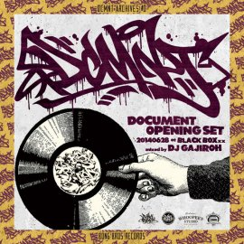 DJ GAJIROH [ DCMNT ARCHIVES #0 ] MIX CD