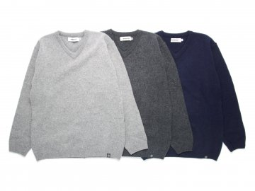 INTERFACE [ V-NECK RUM KNIT ] 3 COLORS