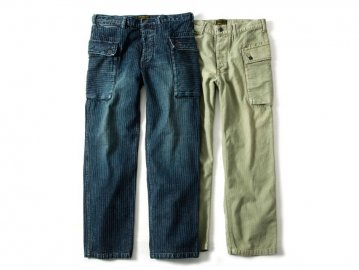 68&BROTHERS [ M44 Herringbone Pants ] 2 COLORS