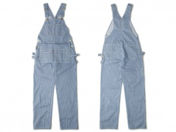 Nisus Hotel [ Hickory Stripe Multi Pocket Overalls ]