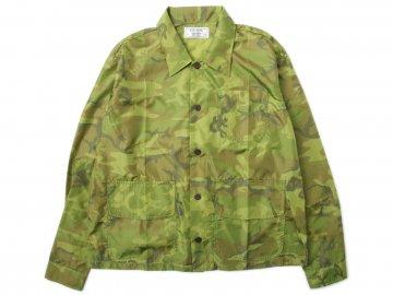 Nisus Hotel [ Nylon Camo Shirt Jacket ]