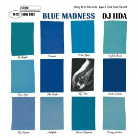 DJ IIDA [ BLUE MADNESS ] MIX CD