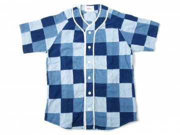 Nisus Hotel [ Patchwork Baseball Shirt ]