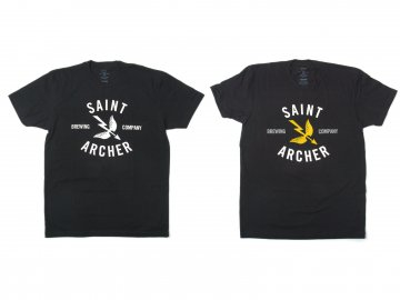 SAINT ARCHER BREWING CO. [ Classic Brew Front S/S Tee ] 2 COLORS